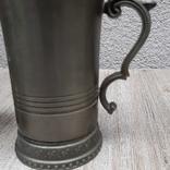 Коллекционная кружка,бокал из пищевого цинка и 2 стопки, фото №6
