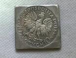 Польша 10 злотых, 1933 250 лет битве на Вене. Ян III Собеский копия, фото №3