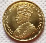 5 долларов 1914 год канада копия, фото №2