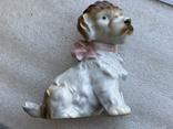 Статуэтка Собачка с бантиком Германия, фото №9