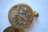 Часы карманные. Позолота 20 микрон., фото №9