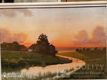 Картина в раме пейзаж,холст,масло автор Чернышенко, фото №4