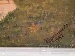 Картина в раме пейзаж,холст,масло автор Чернышенко, фото №5