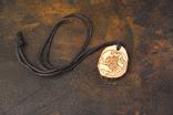 Підвіска амулет з кості ,,Лютий звір,,, фото №3