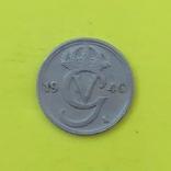 Швеція 10 ере, 1940 Нікелева бронза, GV на аверсі, фото №3