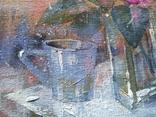 Картина «Голубая чашка». Художник Ellen ORRO. Холст на картоне/акрил. 30х24, 2019 г. фото 4