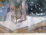 Картина «Голубая чашка». Художник Ellen ORRO. Холст на картоне/акрил. 30х24, 2019 г. фото 7
