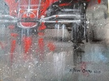 Картина «Красное авто» Художник Ellen ORRO холст/картон/акрил. 40х40 2020 г. фото 6