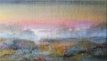 Картина «Вечер» Художник Ellen ORRO холст/акрил 41.5х23.5 2019 г.