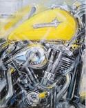 Картина «Harley-Davidson». Художник Ellen ORRO. холст/акрил. 40х50, 2019 г