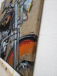 Картина «Harley-Davidson». Художник Ellen ORRO. джут/акрил. 50х50, 2019 г. фото 9
