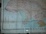Карта етнічного складу населення України Київ 1966 В.І.Наулко, фото №13