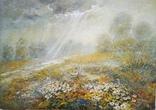 Картина «После дождя». Художник Ellen ORRO. холст/акрил. 80х57, 2008 г.