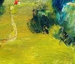 Картина «Тропинка». Художник Ellen ORRO. картон/масло 15х15, 2018 г. фото 6