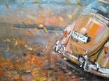 Картина «Падают листья». Серия «Авто». Художник Ellen ORRO. 50х70, 2019 г. фото 6