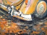 Картина «Падают листья». Серия «Авто». Художник Ellen ORRO. 50х70, 2019 г. фото 8