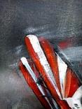 Картина «Лучи». Серия «Авиа». Художник Ellen ORRO. холст на картоне./акрил. 50х70, 2019 г. фото 6
