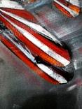 Картина «Лучи». Серия «Авиа». Художник Ellen ORRO. холст на картоне./акрил. 50х70, 2019 г. фото 7