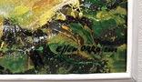 Картина «Лучистая роза». Художник Ellen ORRO холст/акрил, 25.5х25.5, 2001 г. фото 9