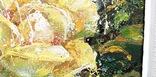 Картина «Лучистая роза». Художник Ellen ORRO холст/акрил, 25.5х25.5, 2001 г. фото 10
