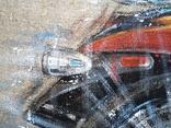 Картина «Харлей-Девидсон». Художник Ellen ORRO джут/акрил, 65х55, 2017 г. фото 5
