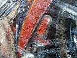 Картина «Харлей-Девидсон». Художник Ellen ORRO джут/акрил, 65х55, 2017 г. фото 9