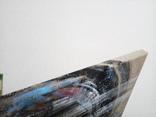 Картина «Харлей-Девидсон». Художник Ellen ORRO джут/акрил, 65х55, 2017 г. фото 12