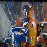 Картина «Натюрморт «Блики». Художник Ellen ORRO. дерево/акрил, 19.5х29.5, 1994 г. фото 5