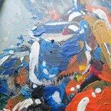 Картина «Натюрморт «Блики». Художник Ellen ORRO. дерево/акрил, 19.5х29.5, 1994 г. фото 7