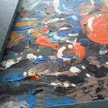 Картина «Натюрморт «Блики». Художник Ellen ORRO. дерево/акрил, 19.5х29.5, 1994 г. фото 8