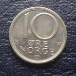 10  эре 1986  Норвегия    (Г.6.13)~, фото №2
