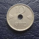 10  эре 1937  Норвегия    (Г.6.16)~, фото №2