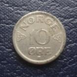 10  эре 1954  Норвегия    (Г.6.32)~, фото №2
