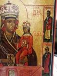 """Икона """"Богородица Умягчение злых сердец"""". 18*15.5., фото №6"""