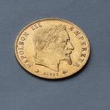 5 франков 1864 Франция. Золото. 1,6 г, фото №2