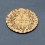 5 франков 1864 Франция. Золото. 1,6 г, фото №3