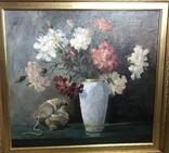 Картина маслом Натюрморт В. Крылов (50х50), фото №3