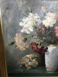 Картина маслом Натюрморт В. Крылов (50х50), фото №5