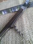 Laguiole в деревянных накладках со штопором, фото №4
