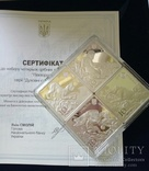 Украина 10 гривен 2019 набор Пектораль серебро 40грн(2), фото №4