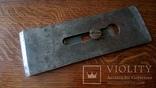 Нож для фуганка 8ГПЗ 1960 год ширина 65 мм толщина 4 мм, фото №2
