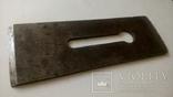 Нож для фуганка 8ГПЗ 1960 год ширина 65 мм толщина 4 мм, фото №3