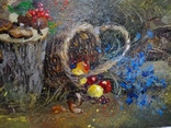 «Осенняя мелодия» холст/акрил 50х40 1999 г. фото 3