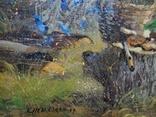 «Осенняя мелодия» холст/акрил 50х40 1999 г. фото 4