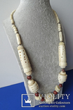 Резное ожерелье из кости., фото №3