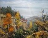 «Осень в заповеднике» холст/акрил 70х50 1999 г.
