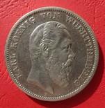 5 марок, Вюртемберг, 1875 год, Е, фото №3