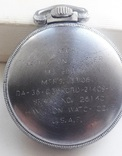 Навигационный военно-морской хронометр Hamilton G.C.T, с 24-часовой индикацией 1970 года, фото №6