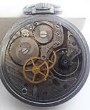 Навигационный военно-морской хронометр Hamilton G.C.T, с 24-часовой индикацией 1970 года, фото №8
