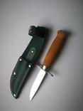 Скаутский нож Mora Швеция. N22., фото №2
